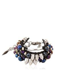 Assad Mounser Blue Iggy Bracelet