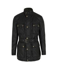 Belstaff - Black Mens Redford Jacket for Men - Lyst