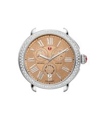Michele - Metallic 'serein' Diamond Watch Case - Lyst