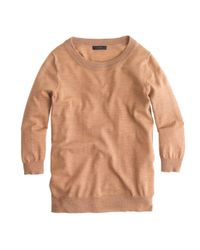 J.Crew | Natural Merino Wool Tippi Sweater | Lyst