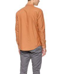 RVCA - Orange That'Ll Do Oxford Shirt for Men - Lyst