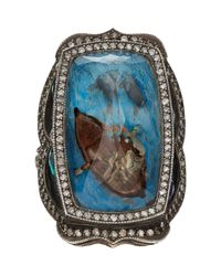 Sevan Biçakci | Metallic Man In A Boat Intaglio Ring | Lyst