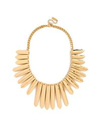 BaubleBar | Metallic 'ra' Bib Necklace | Lyst