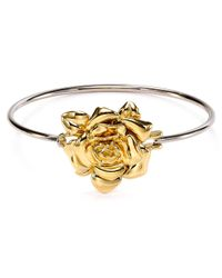 Marc By Marc Jacobs Metallic Jerrie Rose Hinge Bangle