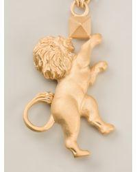 Valentino | Metallic Lion Pendant Necklace | Lyst