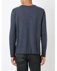 Massimo Alba - Gray Crew Neck Sweater for Men - Lyst
