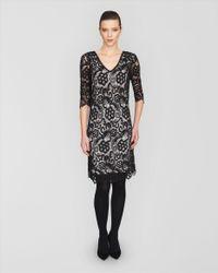 Jaeger Black Lace Dress