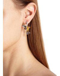 Ca&Lou - Metallic Elsa Swarovski Crystal Earrings - Lyst
