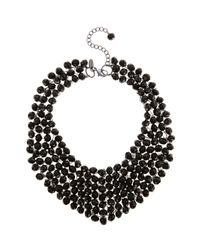 Coast - Black Bella Necklace - Lyst