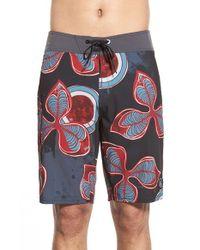 Volcom | Black 'tremours' Board Shorts for Men | Lyst