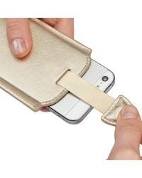Aspinal Metallic Iphone 5 Sleeve