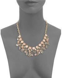 Catherine Stein | Pink Graduated Statement Necklace | Lyst