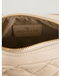 Moncler - Natural Quilted-Leather Cross-Body Bag - Lyst