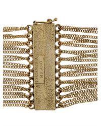 Rosantica By Michela Panero | Metallic Raissa Jade And Gold-Dipped Necklace | Lyst