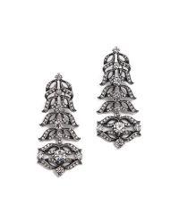 Lulu Frost Metallic Rococo Statement Earrings