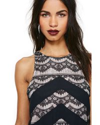Nasty Gal - Black Eternal Lace Dress - Lyst