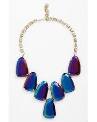 Kendra Scott | Black 'harlow' Necklace | Lyst