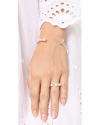 Pamela Love | Metallic Luna Ring | Lyst