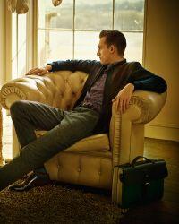 Ted Baker - Purple Color Block Leather Belt for Men - Lyst
