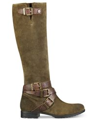 Marc Fisher | Green Noreene Tall Boots | Lyst