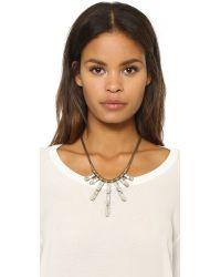 Auden - Metallic Hailey Necklace - Lyst