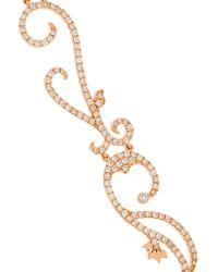 Diane Kordas - Pink Vine 18-karat Rose Gold Diamond Choker - Lyst