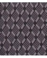 Reiss - Gray Gorden Diamond Silk Tie for Men - Lyst