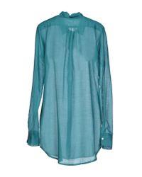 813 Ottotredici - Blue Shirt - Lyst