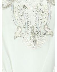 Jane Norman - White Embellished Kaftan Dress - Lyst