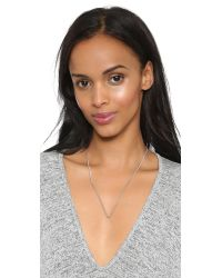 Marc By Marc Jacobs | Metallic Beat It Pointer Necklace - Argento | Lyst