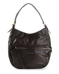 Marc By Marc Jacobs | Black 'Moto Hobo' Tote | Lyst