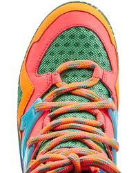 Marc By Marc Jacobs   Brown Ninja Wave High Top Platform Sneaker - Multicolor   Lyst