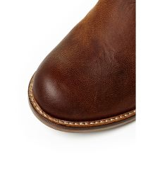 Moda In Pelle Brown Halli Low Casual Long Boots