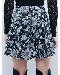 Free People | Multicolor Empire Mini Skirt | Lyst