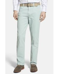 Cutter & Buck | Green 'tristan' Five-pocket Pants for Men | Lyst