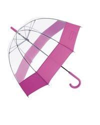 HUNTER Pink Clear Bubble Umbrella