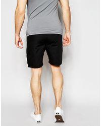 Junk De Luxe | Black Structure Shorts for Men | Lyst