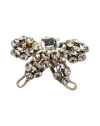 Moschino - Gray Brooch - Lyst