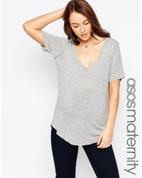 ASOS - Gray The New Forever T-shirt - Lyst