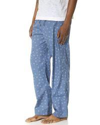 Calvin Klein Blue Key Item Pants for men