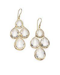 Ippolita | Metallic Indigo Doublet Sterling Silver Snowman Drop Earrings | Lyst