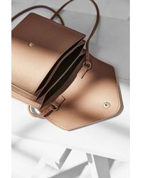 Kimchi Blue - Pink Box Envelope Crossbody Bag - Lyst