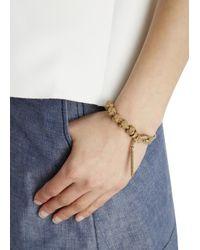Vivienne Westwood Metallic Maria Gold Plated Bracelet