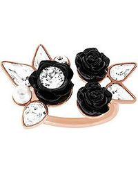 Swarovski Black Bouquet Ring