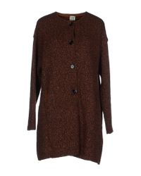 Siyu - Purple Coat - Lyst
