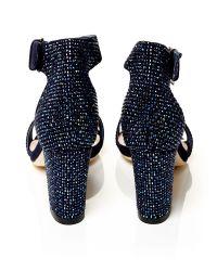 Moda In Pelle Blue Sophina Medium Occasion Sandals