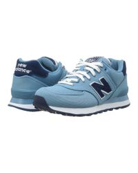 New Balance | Blue Wl574 - Pique Polo Collection | Lyst