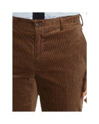 Ralph Lauren Black Label - Brown Nigel Stretch Corduroy Trouser for Men - Lyst