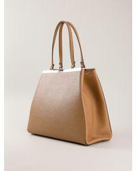 Lyst - Fendi 2jours Tote Bag in Brown 42bb192daaa20