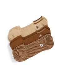 Sperry Top-Sider | Brown 'skimmers Feed' Socks for Men | Lyst